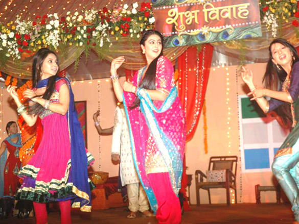 Shafaq,Vinny and Krutika at Shubh Vivah Serial Launch