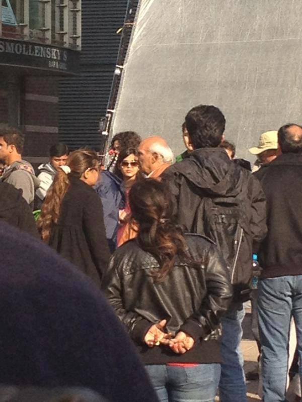 Shah Rukh Khan Shoot in London For Yash Chopra's Film London Ishq