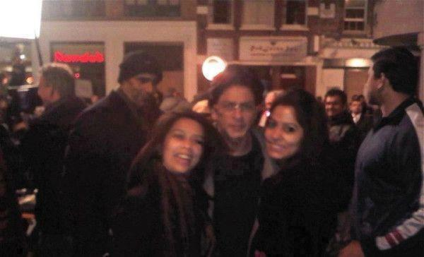 Shah Rukh Khan Spotted On The Set Of London Ishq