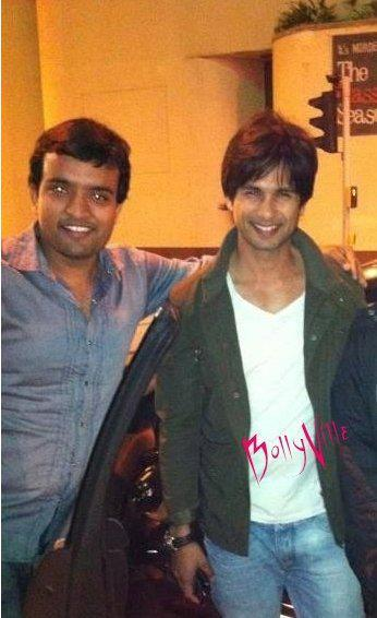 Shahid Kapoor On Sets Of New Movie Teri Meri Kahani