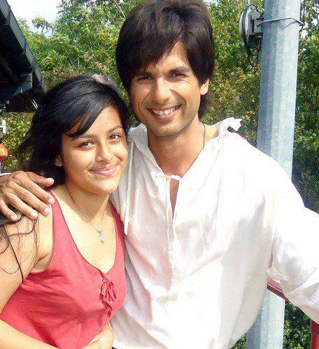 Shahid Kapoor at Teri Meri Kahani Movie Sets