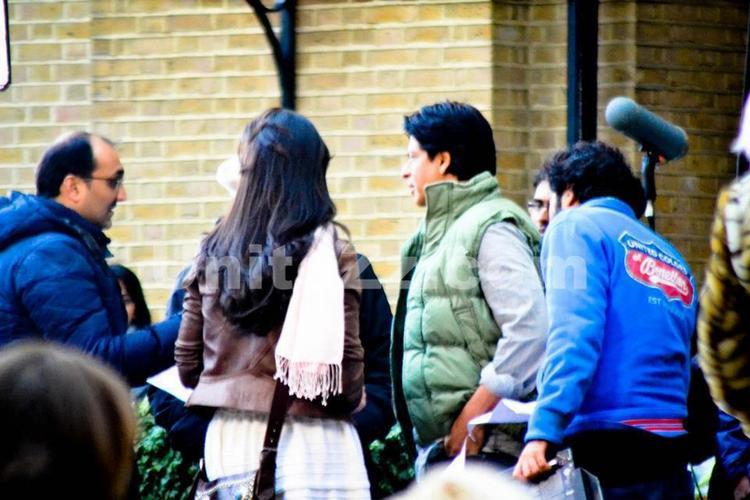 Shahrukh Khan,Katrina Kaif In London