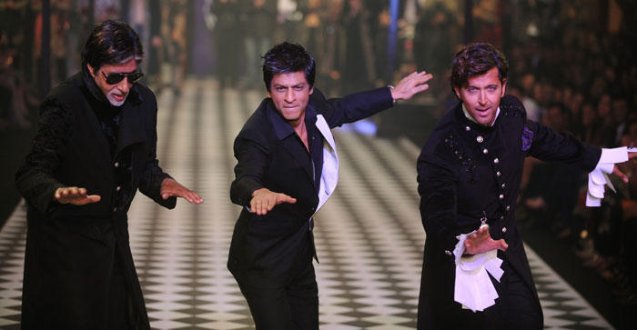 Shahrukh Khan Hrithik Roshan and Amitabh Comes Together