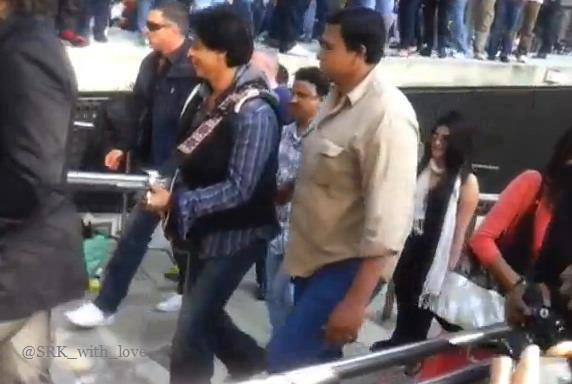 Shahrukh Khan In London For Shoot Of Yesh Chopra Film London Ishq