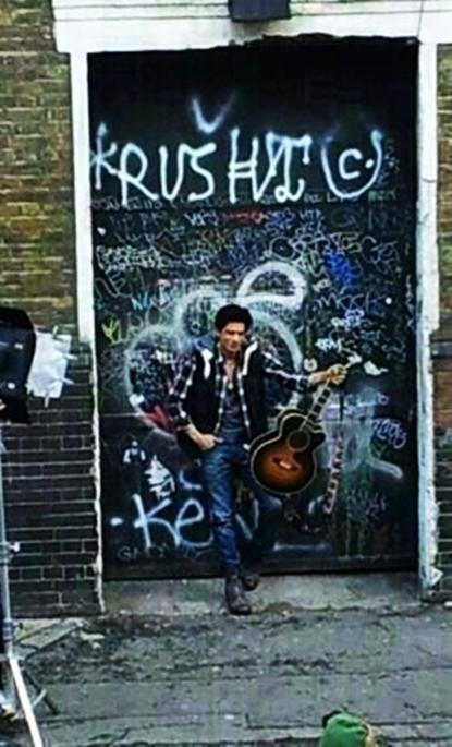 Shahrukh Khan London Ishq First Look Poster