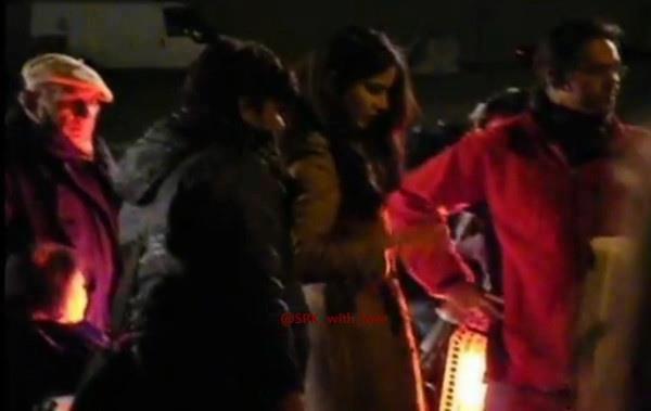 Shahrukh Khan On The Shooting Set Of London Ishq
