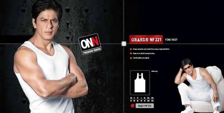Shahrukh Khan Photoshoot For Lux Cozi Keep It ONN Catalogue Wallpaper