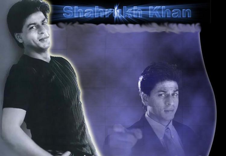 Shahrukh Khan Sexy Smile Face Wallpaper