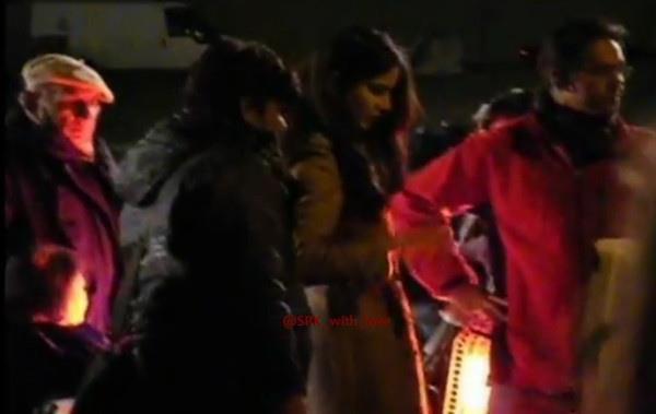 Shahrukh Khan and  Katrina on the sets of Yash Chopra Film