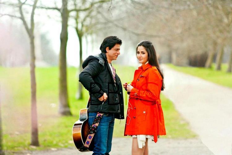 Shahrukh Khan and Katrina Kaif Shoot in London For Yash Chopra's Film London Ishq