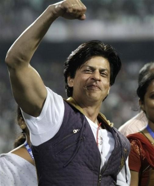 Shahrukh Khan at IPL Match In Kolkata