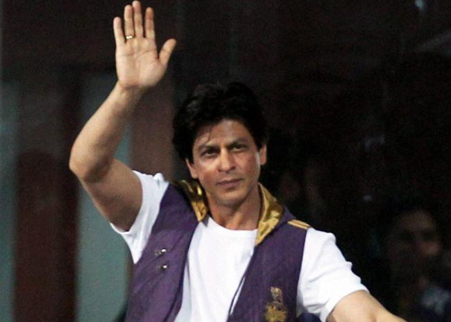 Shahrukh Khan at IPL Match