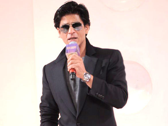 Shahrukh Khan at his Kolkata Knight Riders new logo