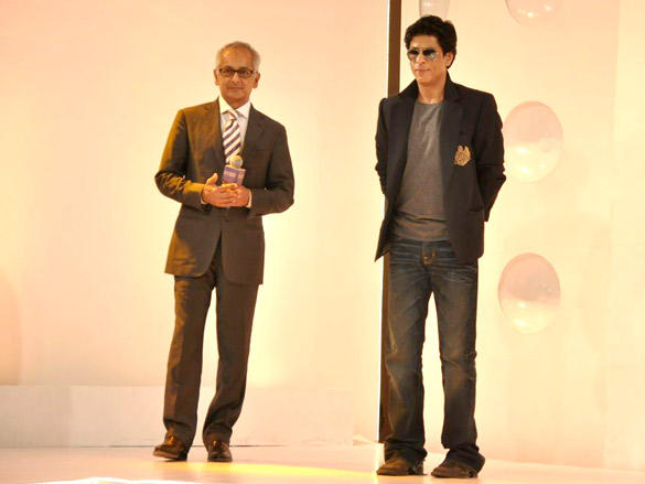 Shahrukh unveils Kolkata Knight Riders New Logo