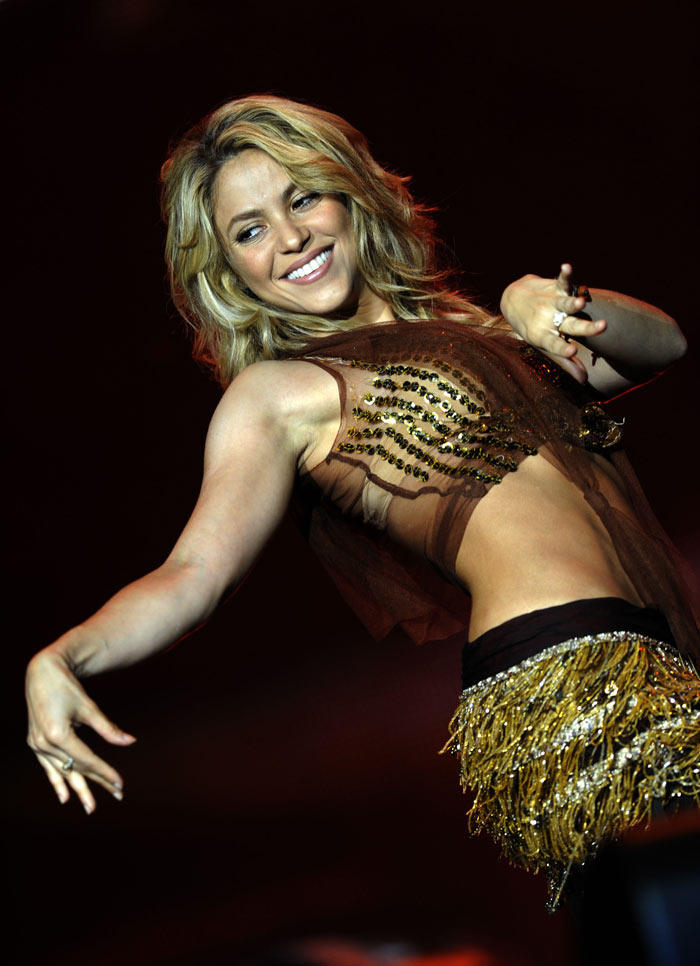 Shakira Rock Performance at Rio