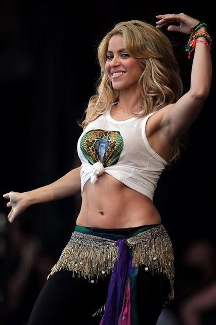 Shakira Stage Performance Cute Photo