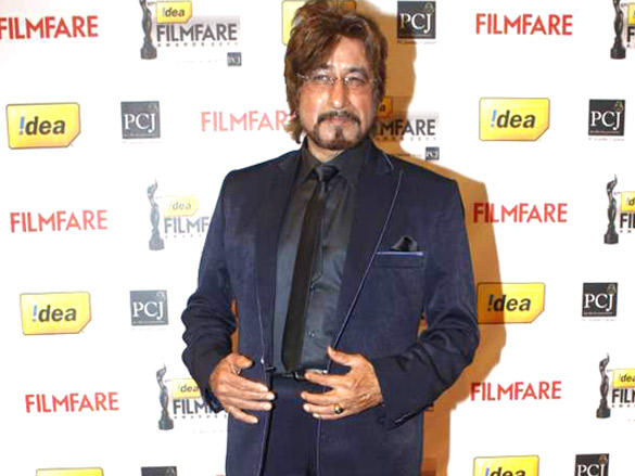 Shakti Kapoor at 57th Idea Filmfare Awards