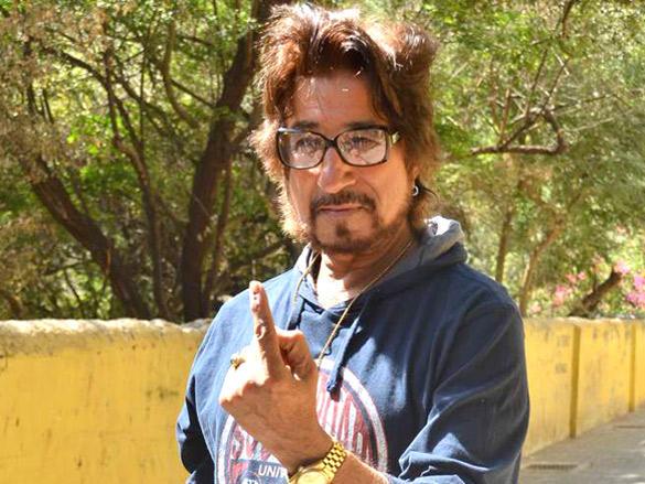 Shakti Kapoor cast his votes in Maharashtra civic polls Mumbai