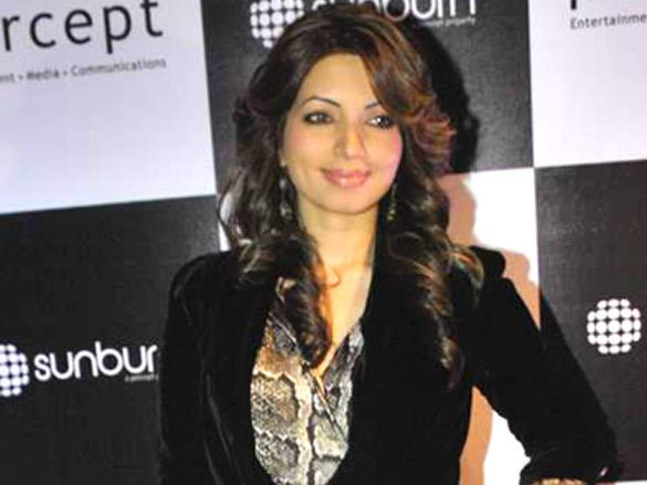 Shama Sikander at Sunburn Awards in Blue Frog on 17th Jan 2012