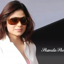 Shamita Shetty Sweet Lips Stylist look Wallpaper