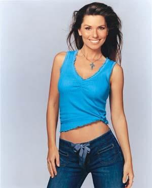 Shania Twain Looks Sizzling With Jeans