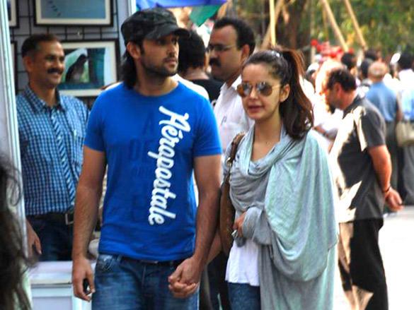 Shazahn Padamsee with her boyfriend latest photo