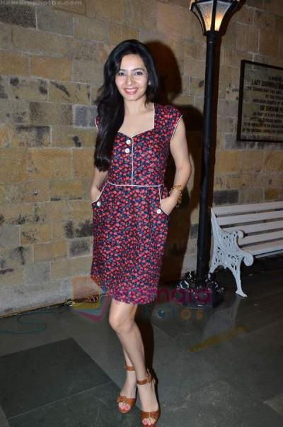 Shonali Nagrani at Khalid Mohameds Kennedy Bridge play premiere show in NCPA