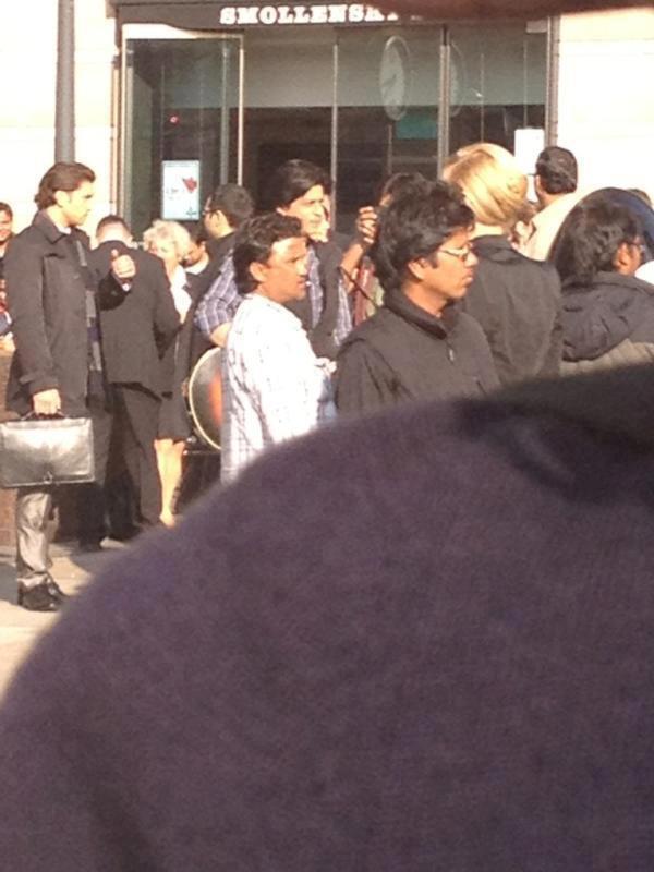 Shooting Set Of London Ishq