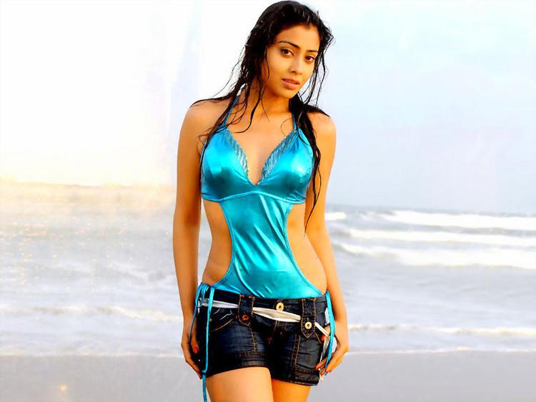 Shriya Saran Sexy Dress Hot Wallpaper