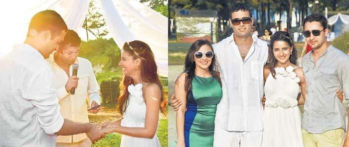 Shruti Seth Wedding Still