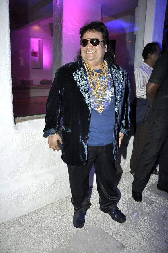 Singer Bappi Lahiri Also Attended UTV Stars Walk Of The Stars After Party Event