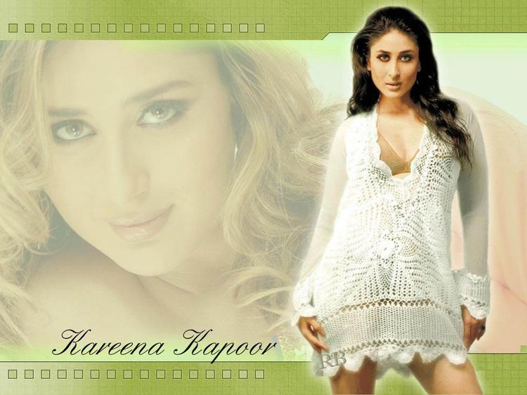 Sizzling Beauty Kareena Kapoor Wallpaper