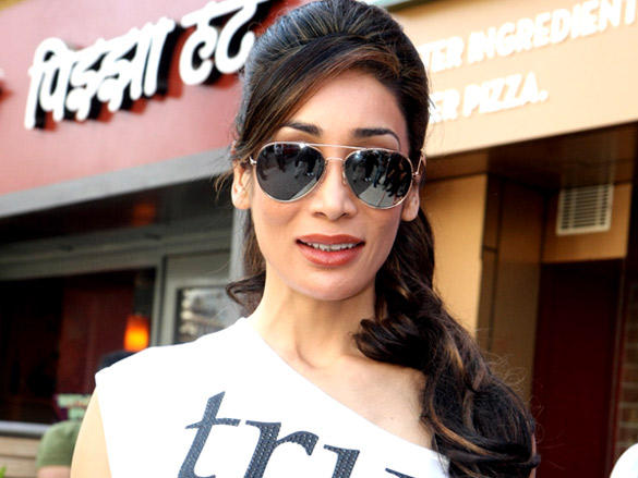 Sofia Hayat at promote Diary of a Butterfly at Reliance Digital