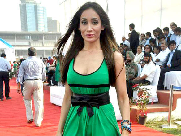 Sofia Hayat during Argentine VS Arc polo match