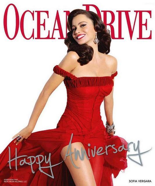 Sofia Vergara Red Dress Hot Wallpaper