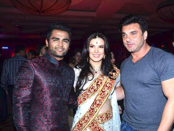 Sohail Khan at Sachin Joshi and Urvashi Sharma wedding reception