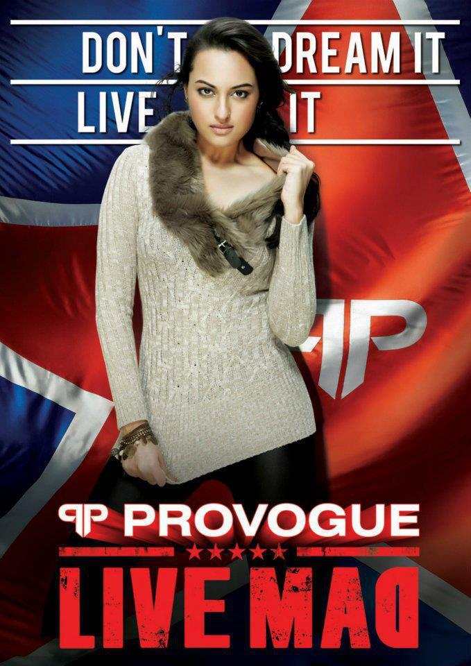 Sonakshi Sinha Sexy Photoshoot For Provogue Winter Collection