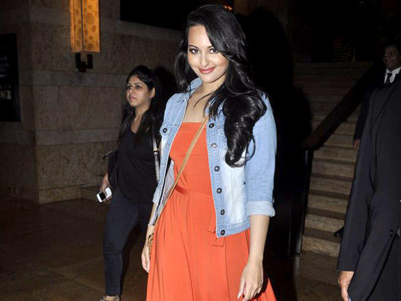 Sonakshi Sinha Snapped At The Grand Hyatt Hotel