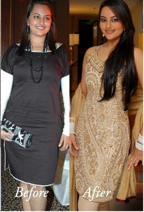 Sonakshi Sinha Transformation Photo