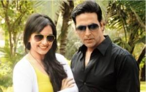 Sonakshi and Akshay Poses To Photo Shoot