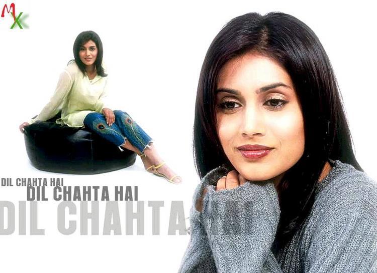 Sonali Kulkarni in Dil Chahta Hai