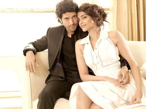 Sonam Kapoor and Farhan Akhtar Hot Look Photoshoot For HT Brunch