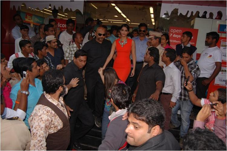 Sonam Kapoor About to Leave Reliance Digital, Pune