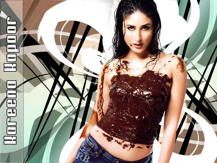 Spicy Actress Kareena Kapoor Wallpaper