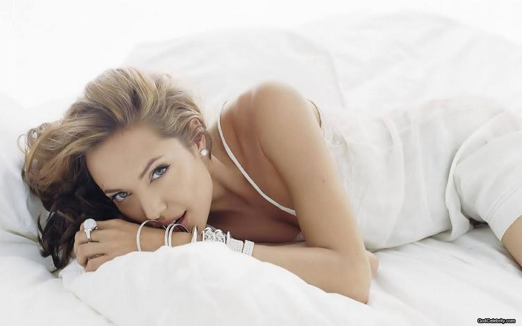 Spicy Angelina Jolie Wallpaper