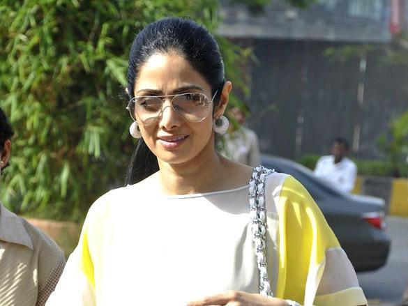 Sridevi Kapoor at Neeta Lulla Birthday Brunch