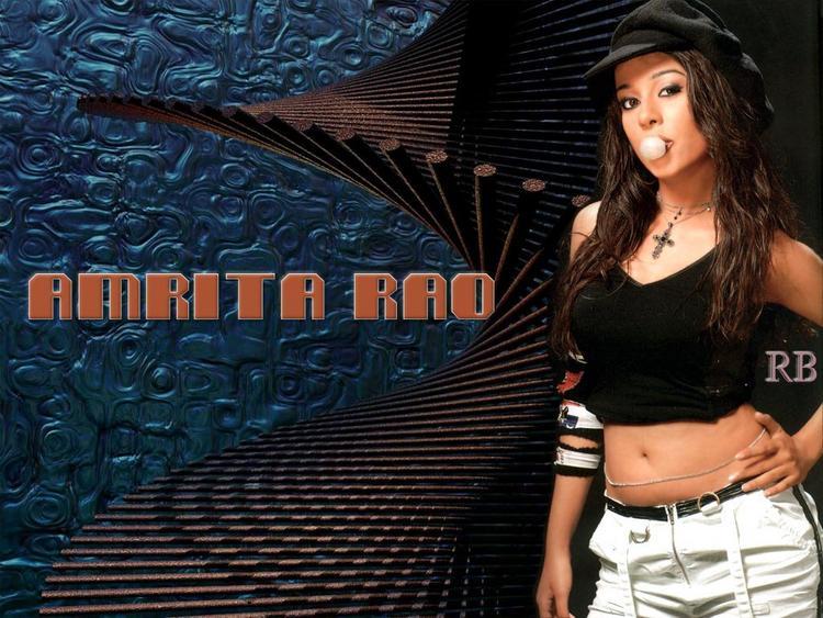 Stunning Amrita Rao Wallpaper