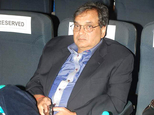 Subhash Ghai at Whistling Wood's film discussion session