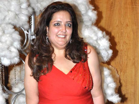 Sunaina Roshan at her birthday party
