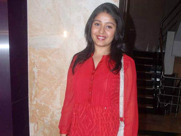 Sunidhi Chauhan at Singer Krisna Party